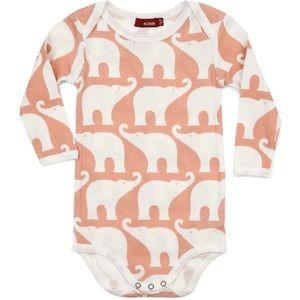 NWT Milkbarn Organic Elephant Onesie 🐘